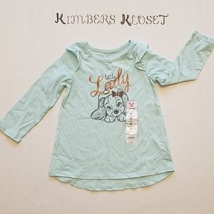 NWT Disney Jumping Beans Little Lady Top 24 Months